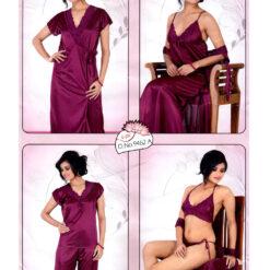 Six Part Night Dress